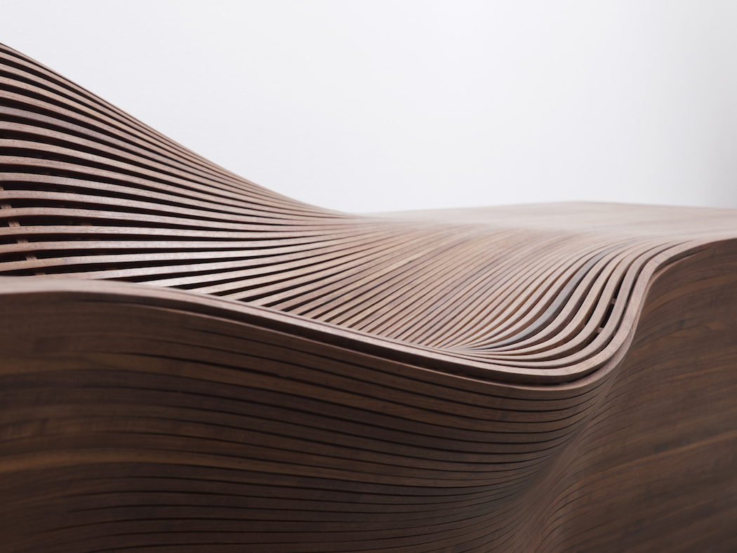 Curvaceous Seating Crafted From Warped Wood