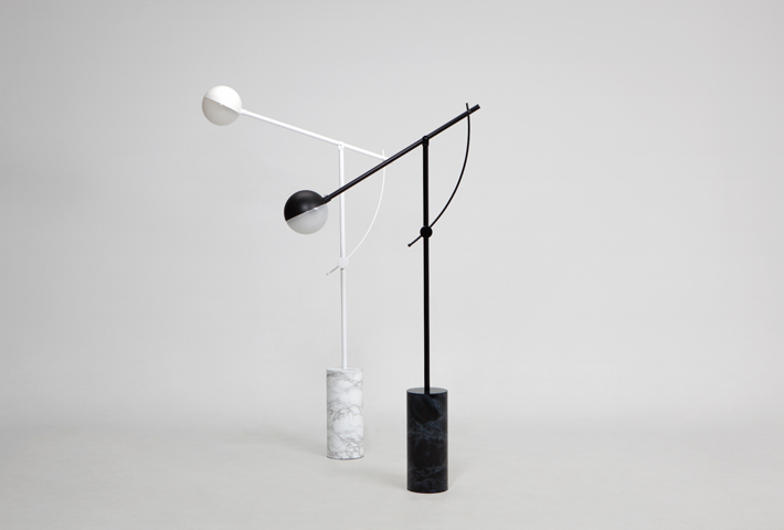 A Minimal Marble Floor Lamp By Yuue Design