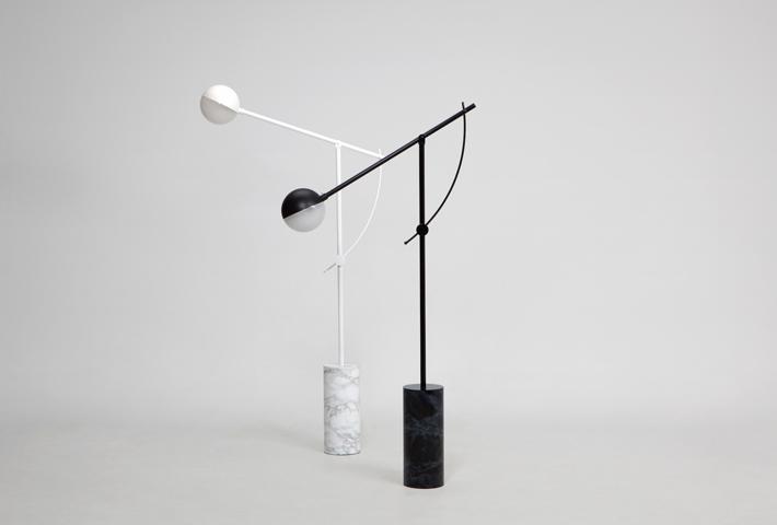 A Minimal Marble Floor Lamp By Yuue Design