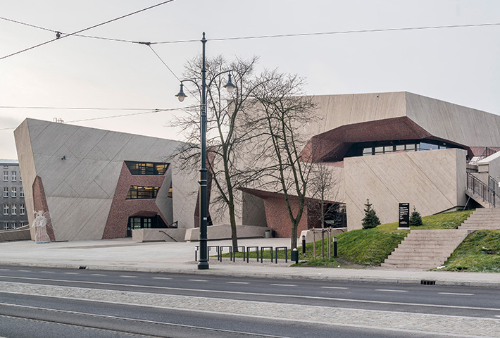 A Concert Hall Built From Crushed Brick