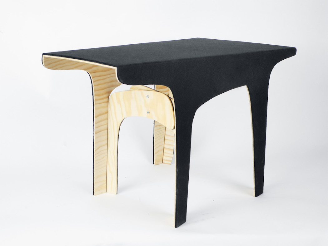A quirky coffee table by karolina fardova for Coffee tables quirky