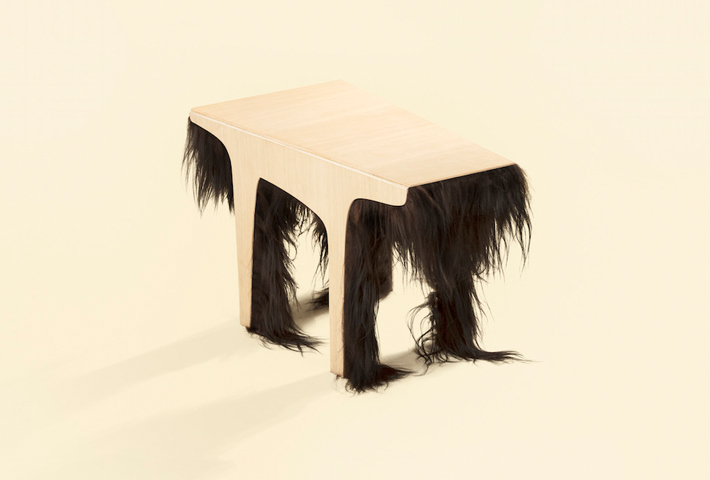 A Quirky Coffee Table By Karolina Fardova