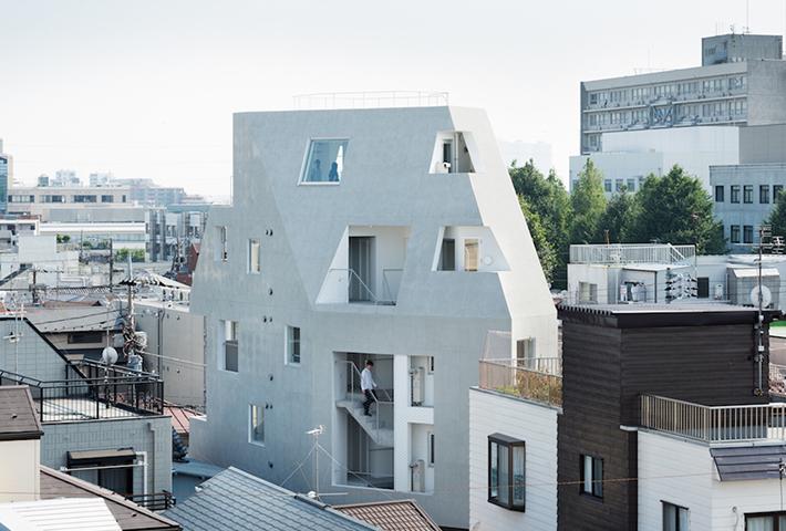 An Innovative University Residence In Tokyo