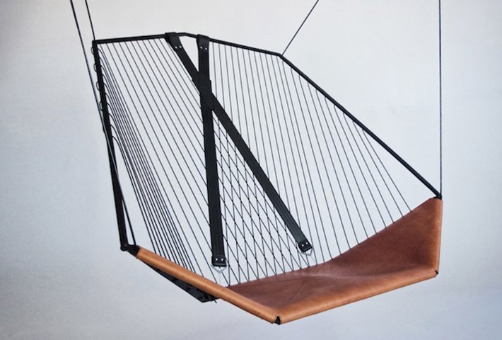 A Suspended Chair By Les Ateliers Guyon
