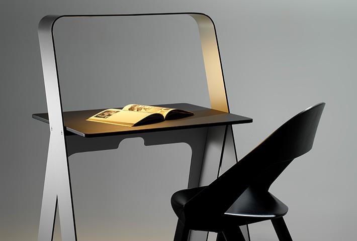 A Self-Illuminating Desk By Torafu Architects