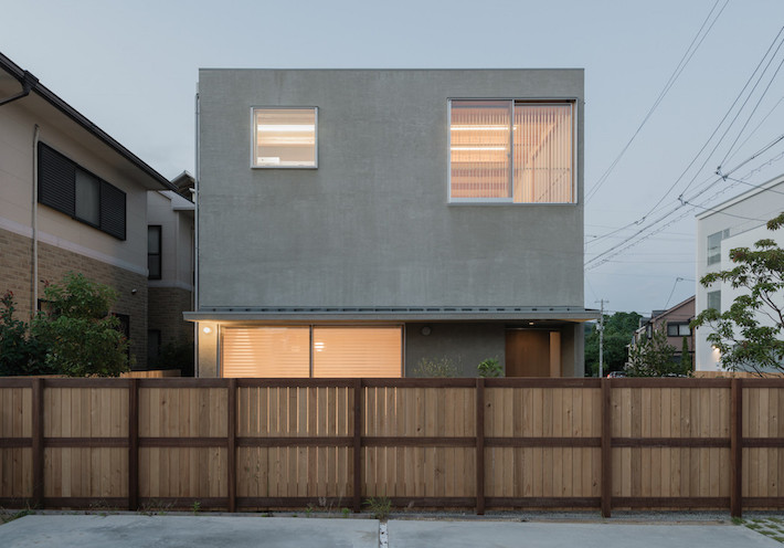 A Private Yet Communal Japanese Home