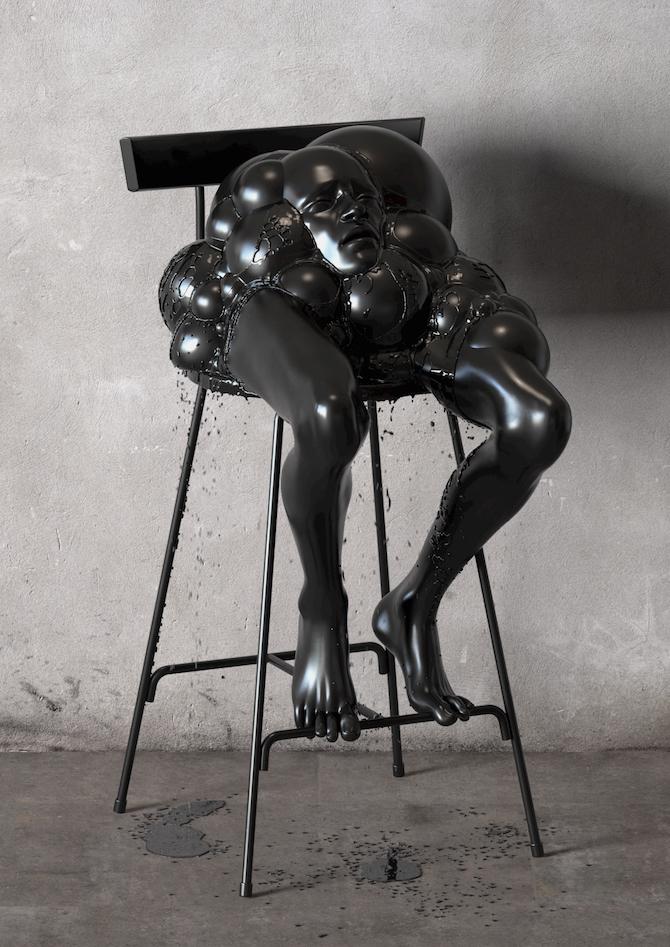 Kyuin Shim_art-Black Black 2, Kyuin Shim, 2014, 42 x59 cm, Digital Art