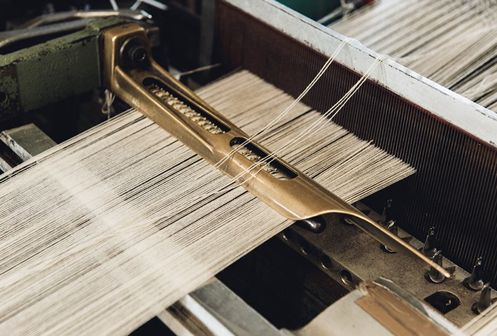 London Cloth Company Revives The Lost Craft Of Loom Weaving