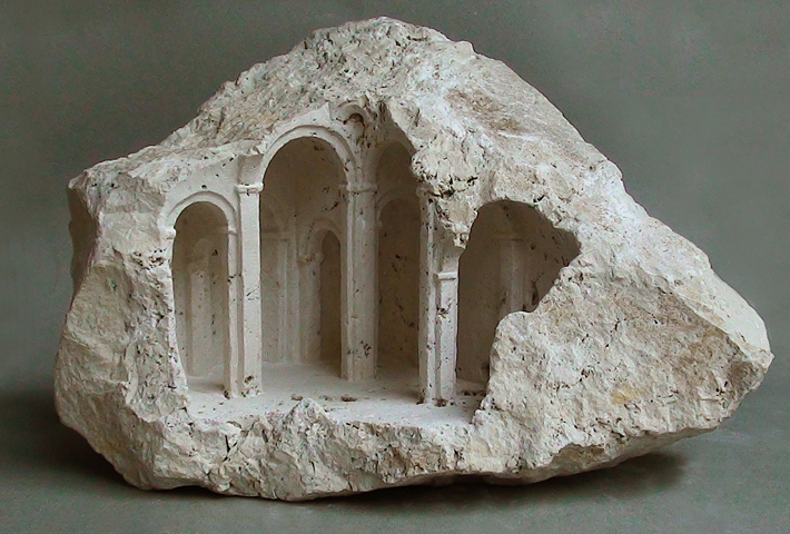 Miniature Stone Sculptures By Matthew Simmonds
