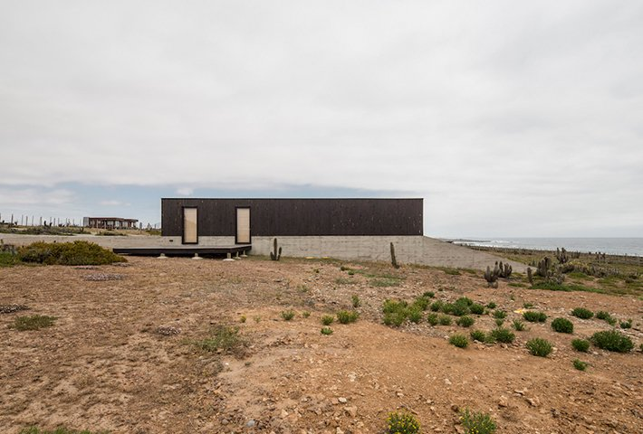 A Modern House On Rugged Terrain In Chile
