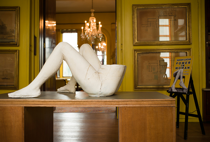 Sarah Lucas Shows The Power In Woman