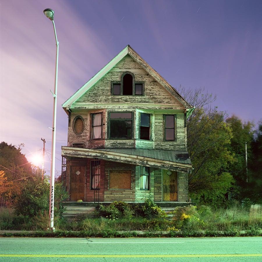 """Ignas Maldziunas, """"Detroit houses"""""""