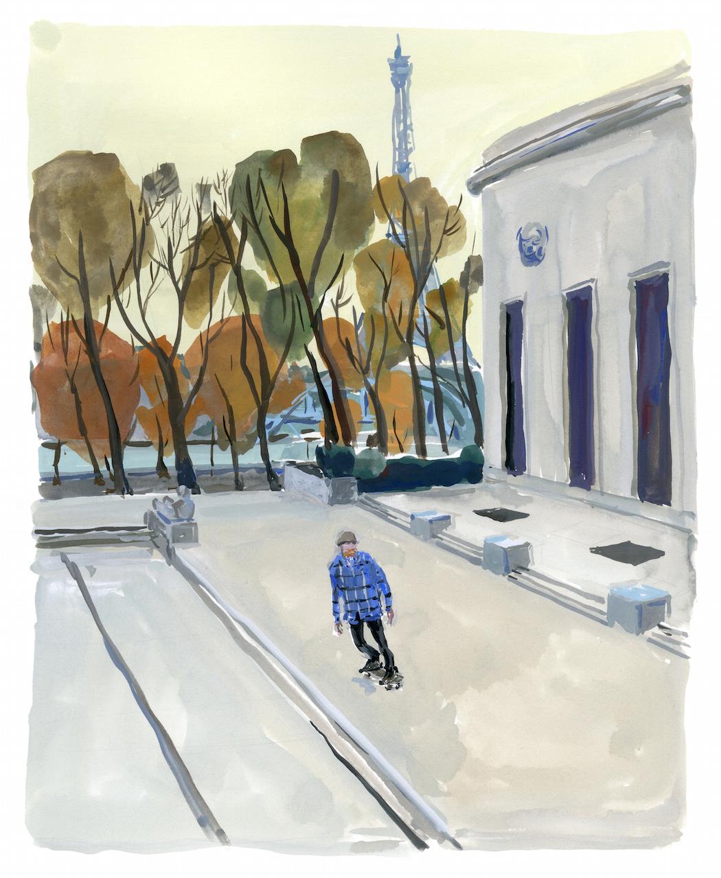Jean-PhilippeDelhomme_art-1-PalaisdeTokyoSkateboard