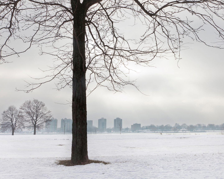 Jennifer Garza-Cuen_photography - Snowscape, Detroit, MI