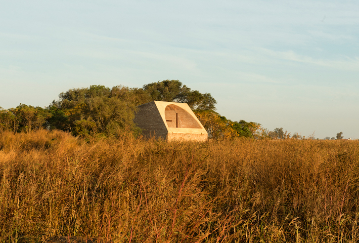 A Sun-Filled Chapel In Rural Argentina