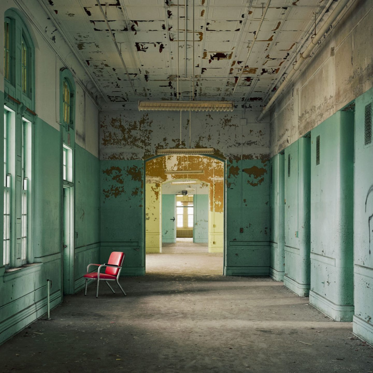 Abandoned Psychiatric Hospitals Captured By Christopher