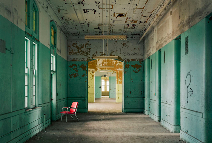 Abandoned Psychiatric Hospitals Captured By Christopher Payne
