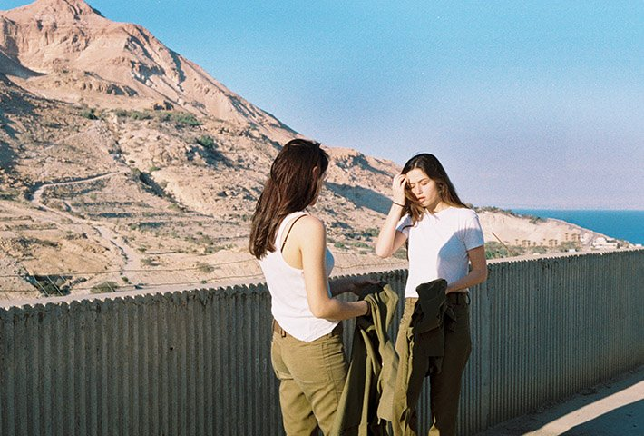 In Between The Daily Routines Of Female Israeli Soldiers