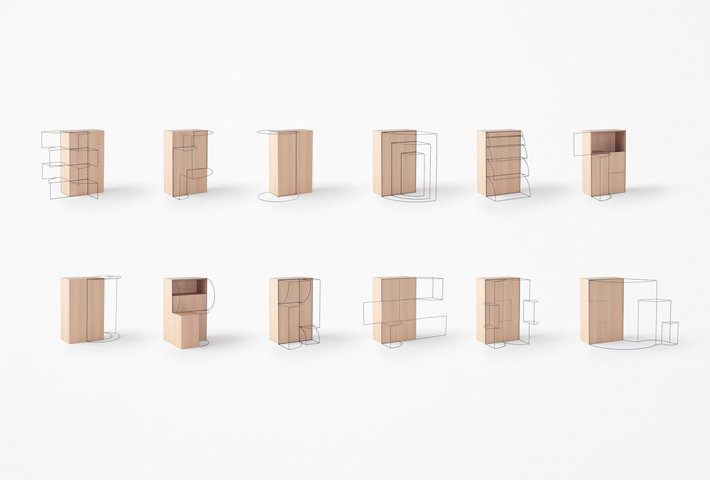 The Poetry Of Moving Furniture By Nendo