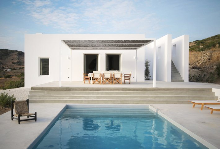A Modern Summer House On A Greek Island