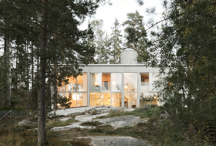 A Weekend House In the Woods Near Stockholm