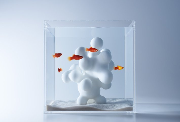 Sculptural Fish Tanks By Misawa Design Institute
