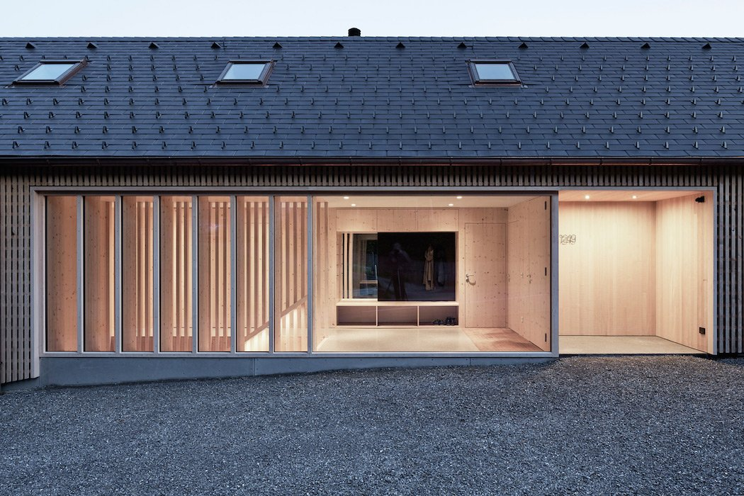 A Wooden Residence In Western Austria
