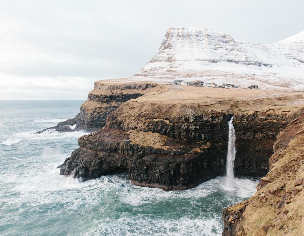Gásadalur, Faroe Islands, 2016