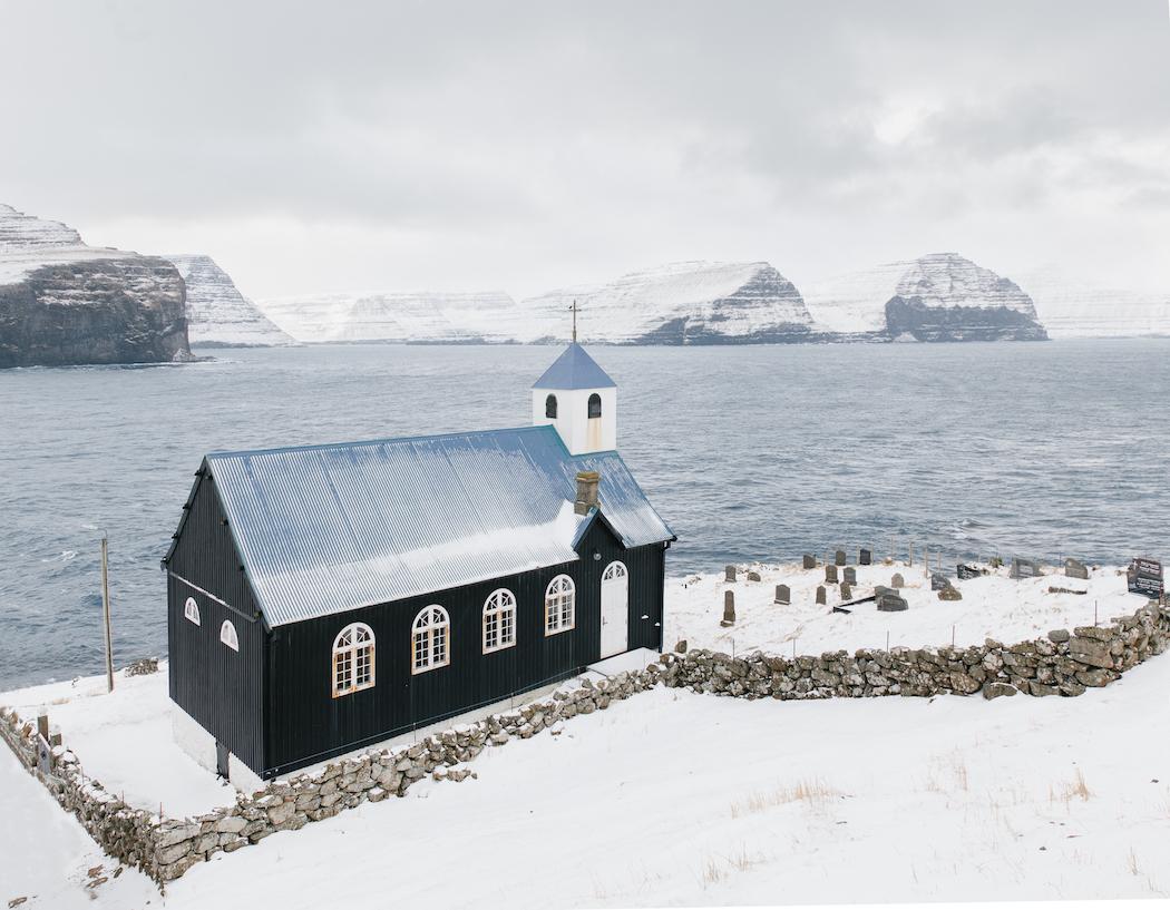 Church of Kirkja, Faroe Islands, 2015