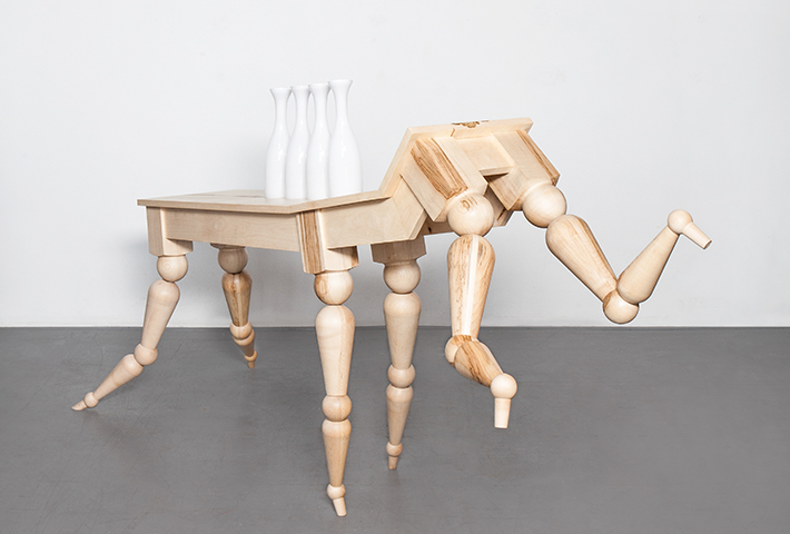 Vendulka Prchalová Challenges Our Idea Of The Table