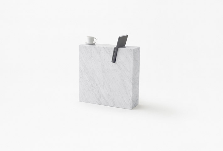 A Minimal Side Table For Literature Lovers