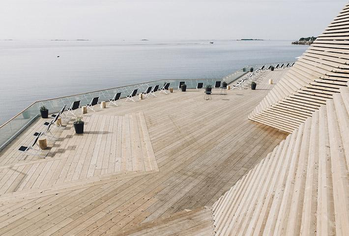 Löyly Sauna · Helsinki, Finland