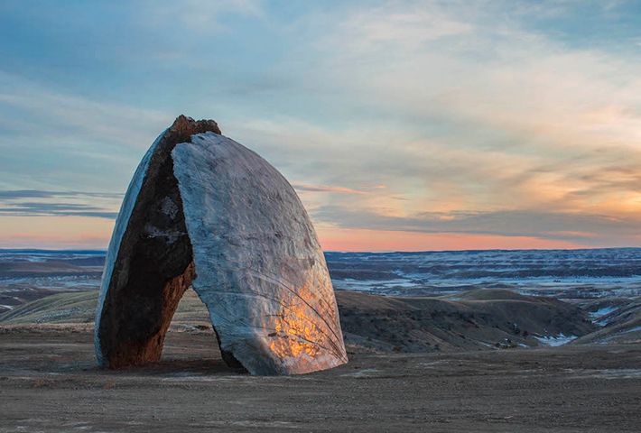Structures Of Landscape At Montana's Tippet Rise
