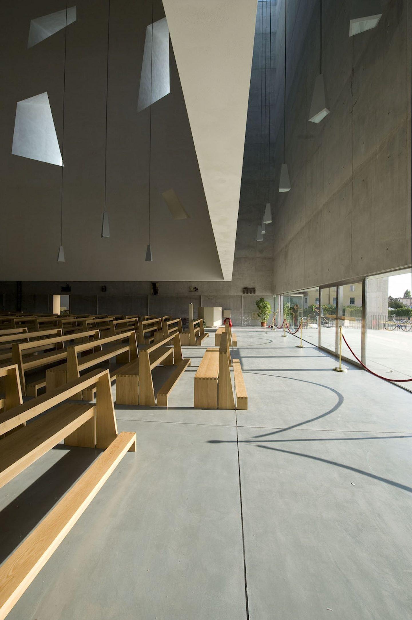 Studio Fuksas - Chiesa San Paolo - Foligno