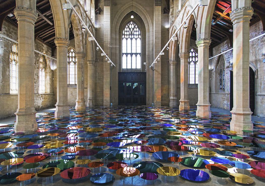 1. Liz West_Art_ Colour Reflection, 2016. Image Credit - Hannah Devereux