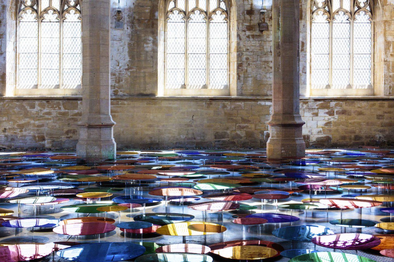 7. Liz West_Art_ Colour Reflection, 2016. Image Credit - Hannah Devereux