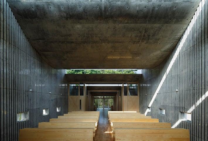 A Concrete Church in Japan