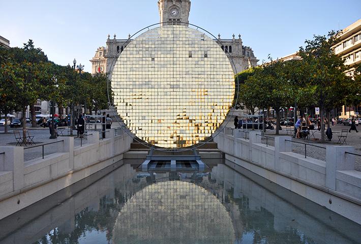 A Shimmering 'Sunwheel' In Porto