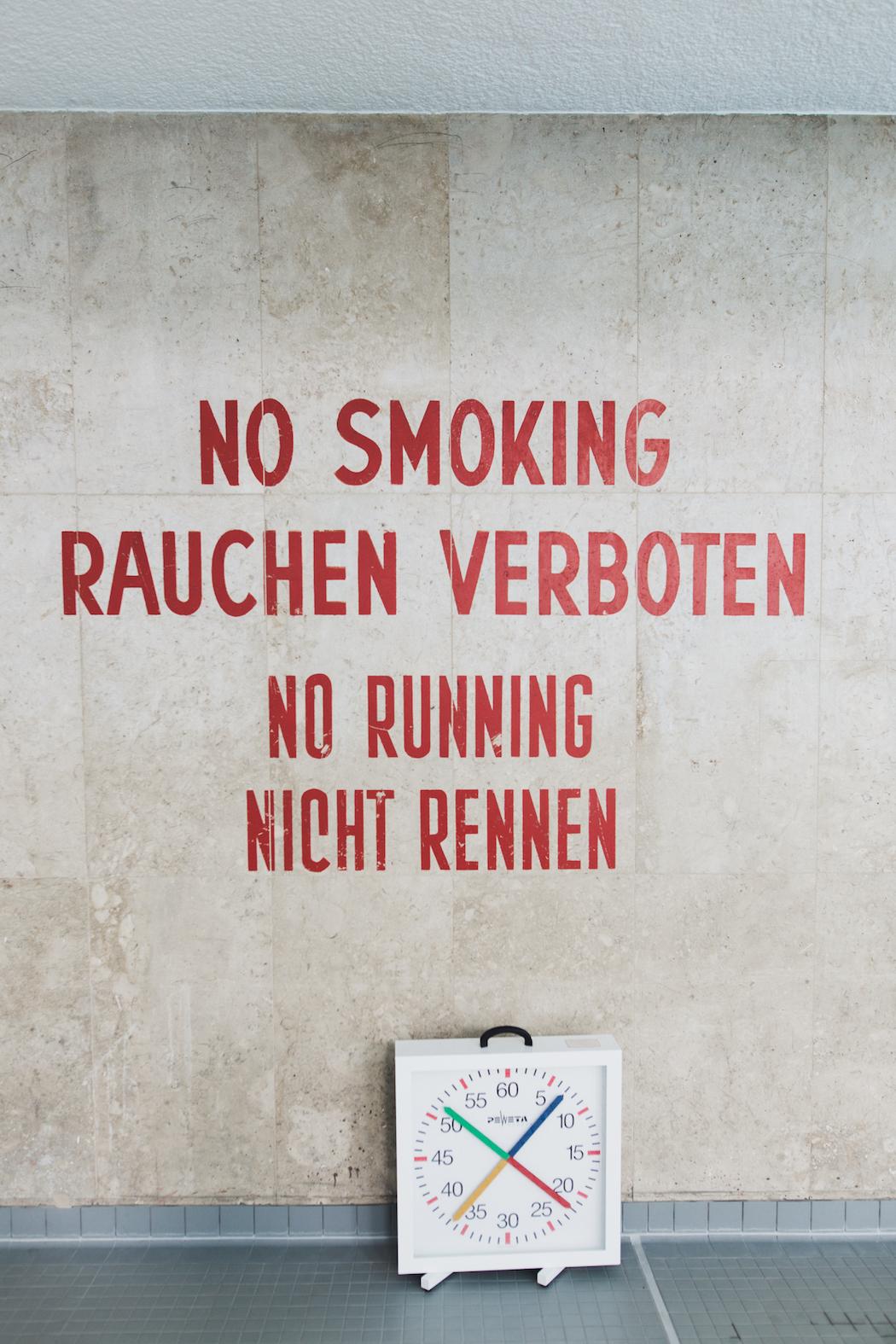 schwimmhalle finckensteinallee · berlin | ignant, Garten und Bauten