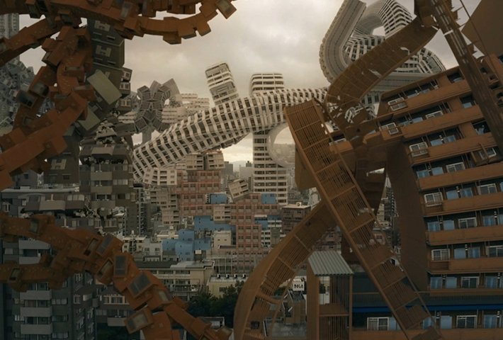A Surreal Vision Of The City As A Living Organism