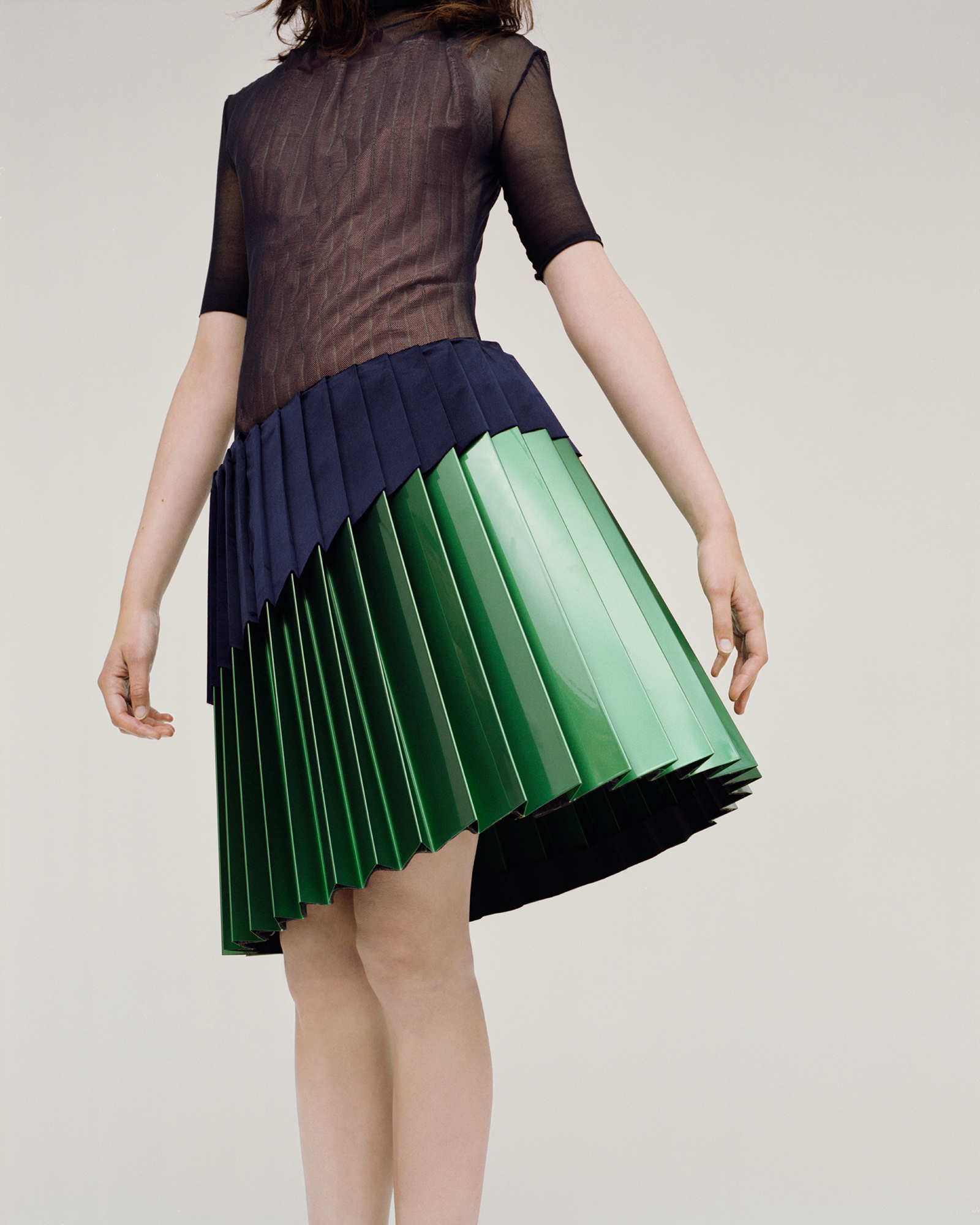 I Am Pleated Skirt