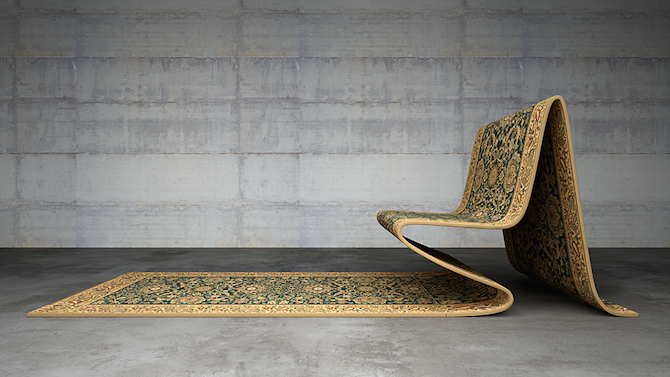 The Magic Carpet Chair IGNANTcom
