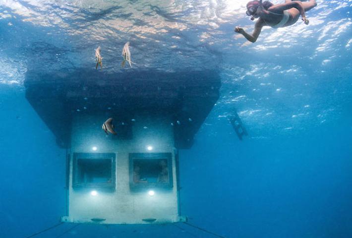 A Room Below The Indian Ocean