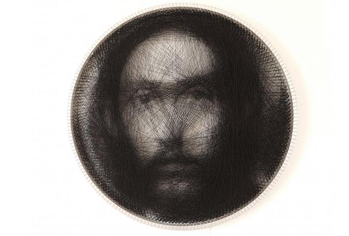 Petro Vrellis Recreates Renaissance Paintings Using A Single Thread