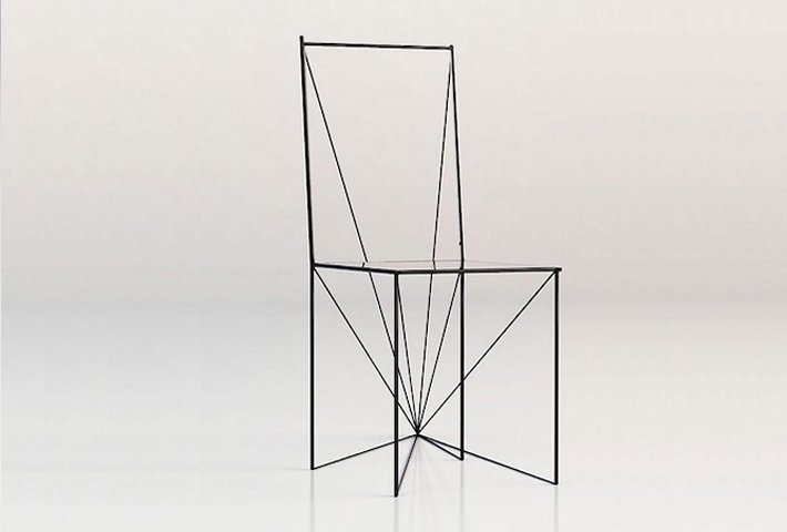 New Perspective Of A Chair