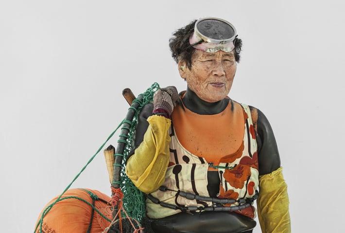 The Free-Diving Haenyeo By Hyung S. Kim
