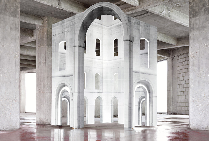 """""""In Search Of The First Line"""" By Noémie Goudal"""