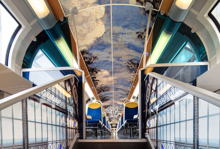 French Trains As Mobile Impressionist Art Museums