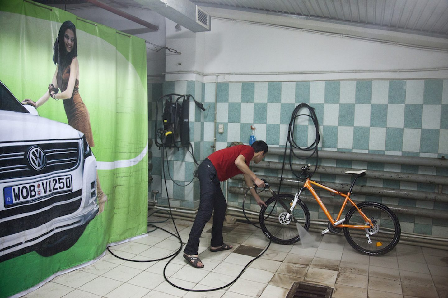 Bicycle Car Wash
