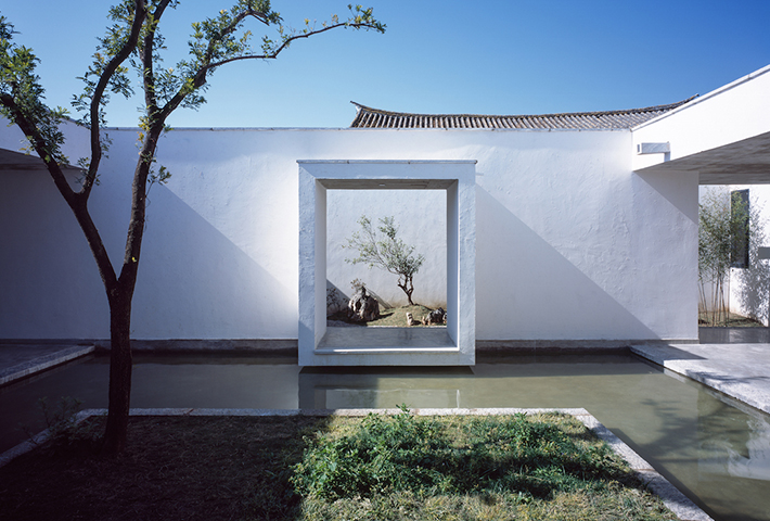 A Meditative House For A Painter
